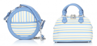 Snob Essentials Circle-Shaped Daily Crossbody and Small Dome Crossbody Satchel
