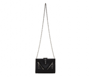 Kenzo Black Biker Shoulder Bag