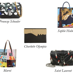 Top 5 Bold Graphic Bags: Get the Picture