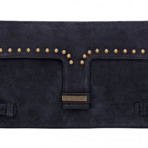 Tomas Maier Varzo Clutch: Suede Persuasion