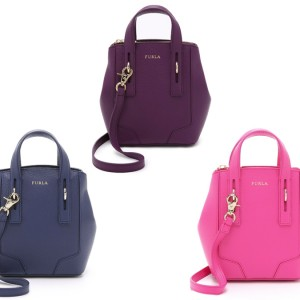 Furla Perla Mini Crossbody Tote: Perla of Wisdom