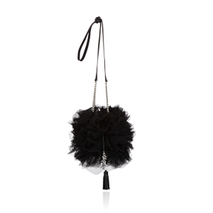 Saint Laurent Tulle Bucket Bag: Cold Shower