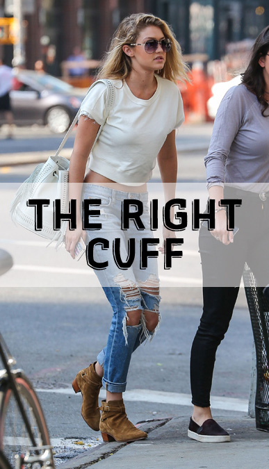 Top Shoe and Jeans-to-Cuff Pairings