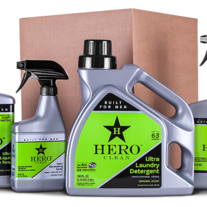 Hero Clean: Cleaning Products Built for Men