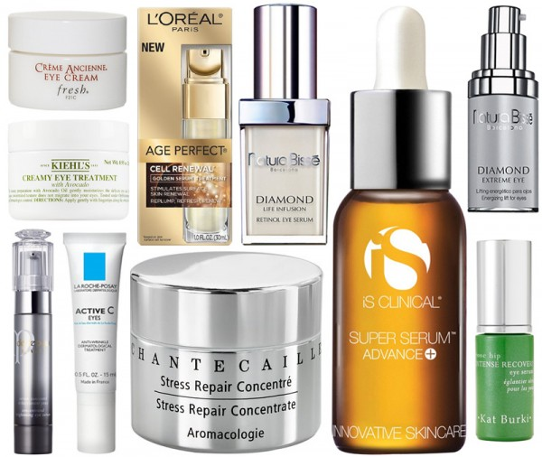 KatBurki_Klorane_Kiehls_LaRoche-Posay_Chantecaille_NaturaBisse_Fresh_iSClinical_L'OrealParis_CledePeauBeaute_EyeSerum_CeyeCream