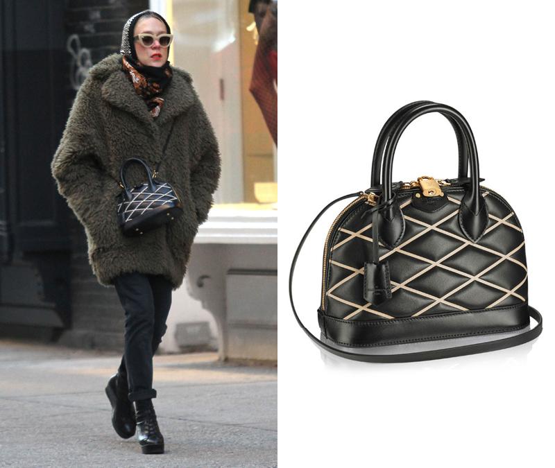 Chloë Sevigny x Louis Vuitton Alma BB