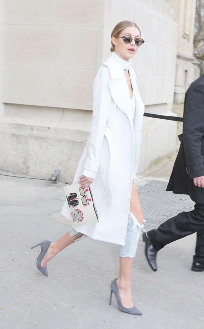 Gigi Hadid x Karl Lagerfeld and A.L.C.