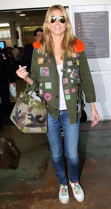 Heidi Klum x Hermès Birkin