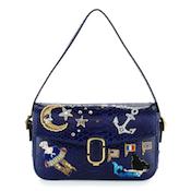 Marc Jacobs J Marc Aged Python Shoulder Bags