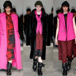 Public School, Derek Lam, Diane von Furstenberg, and Prabal Gurung Fall 2016 Collections