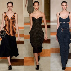 Victoria Beckham Fall 2016 Collection: Branching Out and Bustier-ing Up