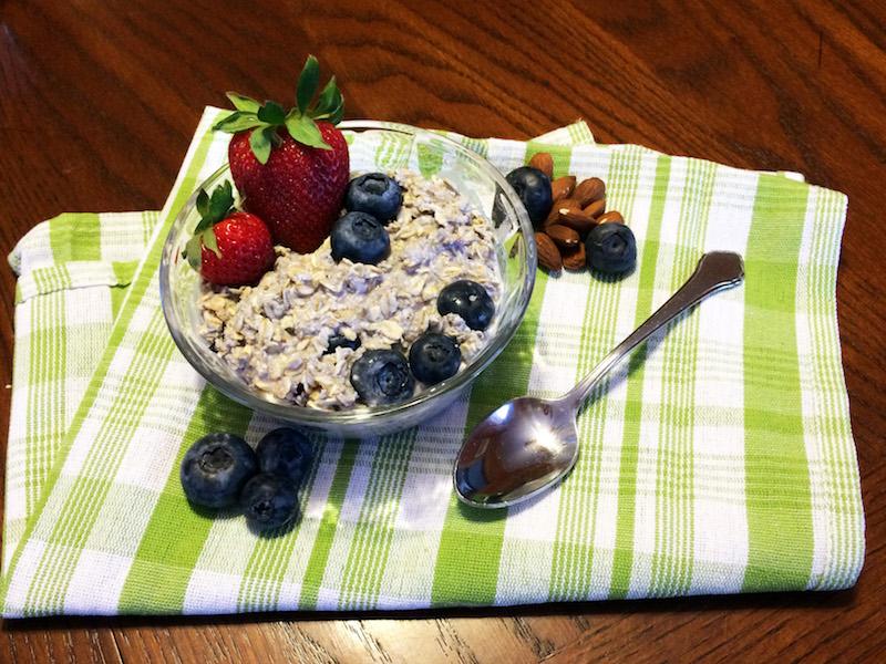 Blueberry Bliss Overnight Oatmeal image