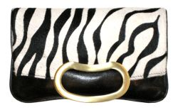 Pony Bean Clutch - Zebra.jpg