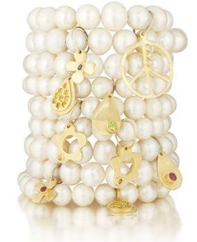 Lauren Sigman Pearl Stacking Bracelets
