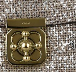 Chloe Elsie Large Metallic Bag - Snob Essentials