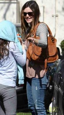 Rachel Bilson\u0026#39;s Chloe Marcie Bag - Snob Essentials