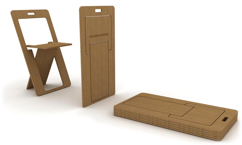 Складная мебель из дерева