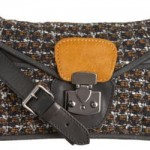 Carven Tweed Shoulder Bag