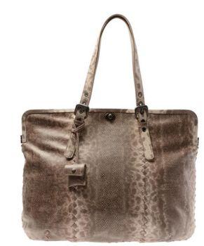 094d361e08 Bottega Veneta Framed Karung Snakeskin Bag