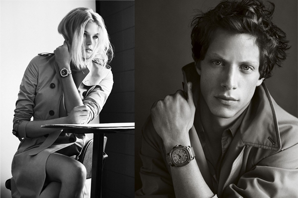 Burberry Britain Watch campaign by Mario Testino