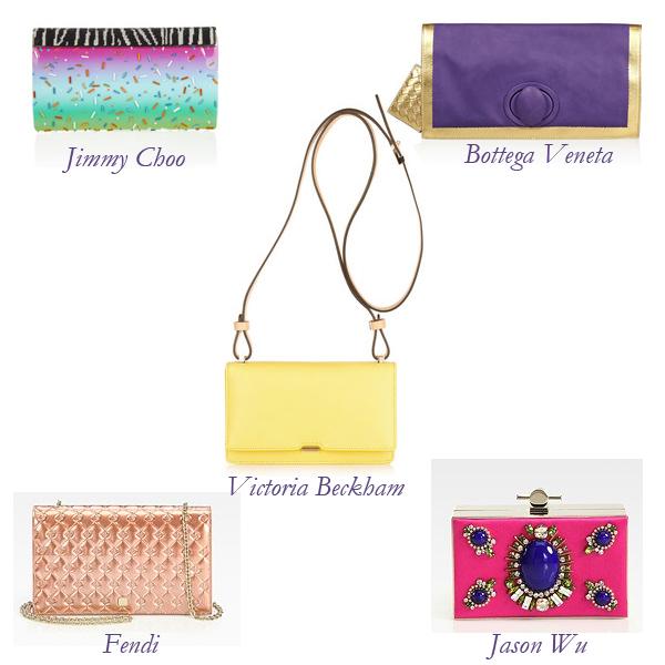 Jimmy Choo, Fendi, Victoria Beckham, Jason Wu, Bottega Veneta Bags