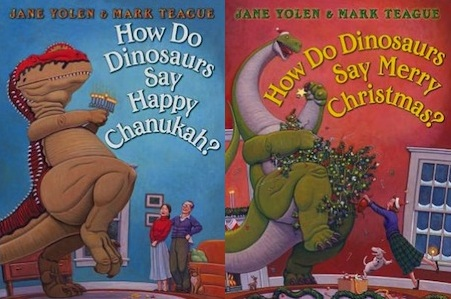 How Do Dinosaurs Say Happy Chanukah? And Merry Christmas?