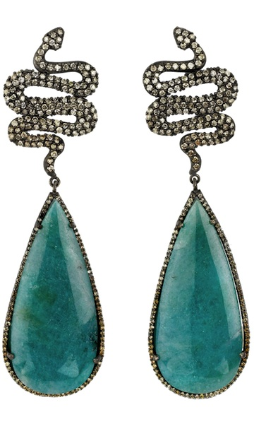 Sara Weinstock Paraiba Tourmaline Earrings