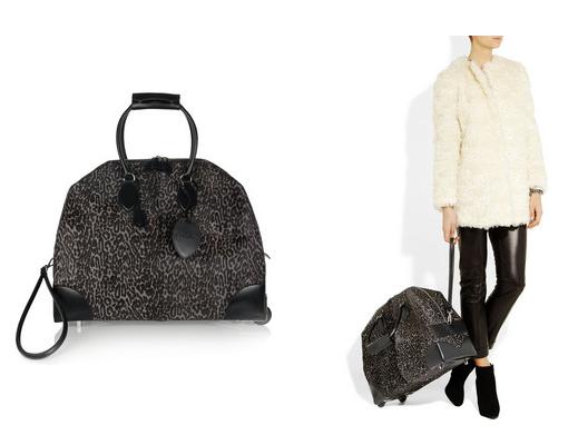 Alaïa Calf-Hair Travel Bag