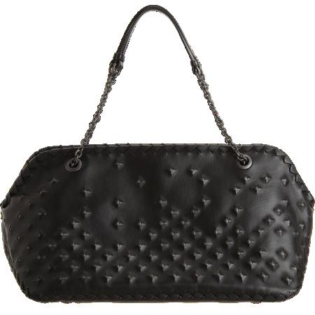 Bottega Veneta Studded Shoulder Bag