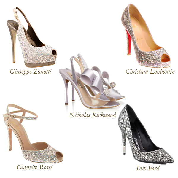 Giuseppe Zanotti, Christian Louboutin, Nicholas Kirkwood, Gianvito Rossi, Tom Ford, Elegant Shoes