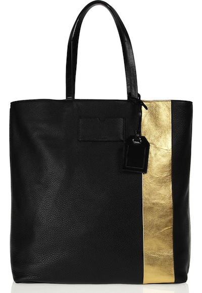 Reed Krakoff Shopper Gym Bag Striped Tote