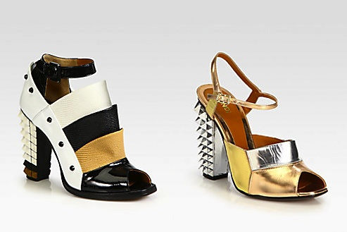 Fendi Polifonia Ankle-Boots and Sandals