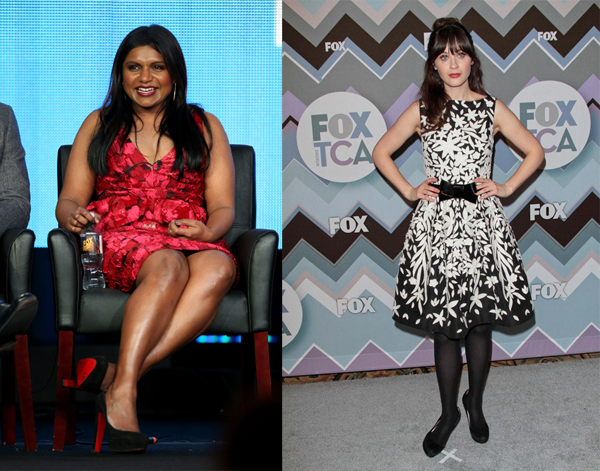 Mindy_Kaling_Zooey_Deschanel