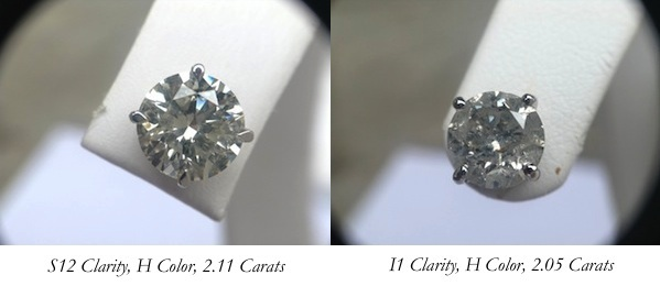 The 4 C's to Buying Diamonds
