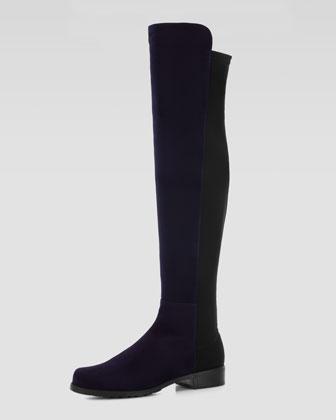 Stuart_Weitzman_5050_Black_stretch_boots
