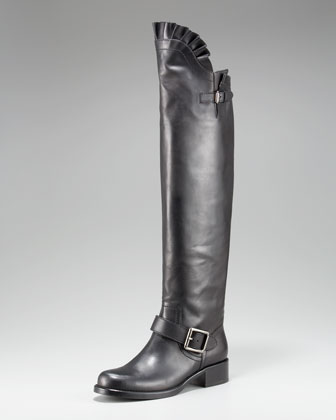 Valentino_Ruffle_Top_Motorcycle_boot