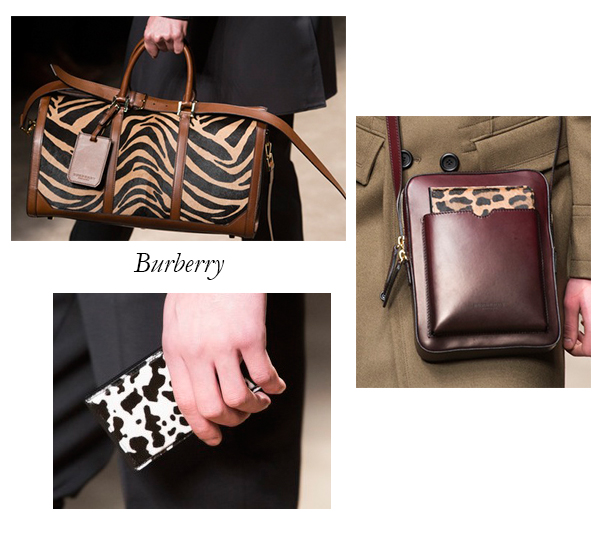 Burberry Fall 2013 Mens Bags