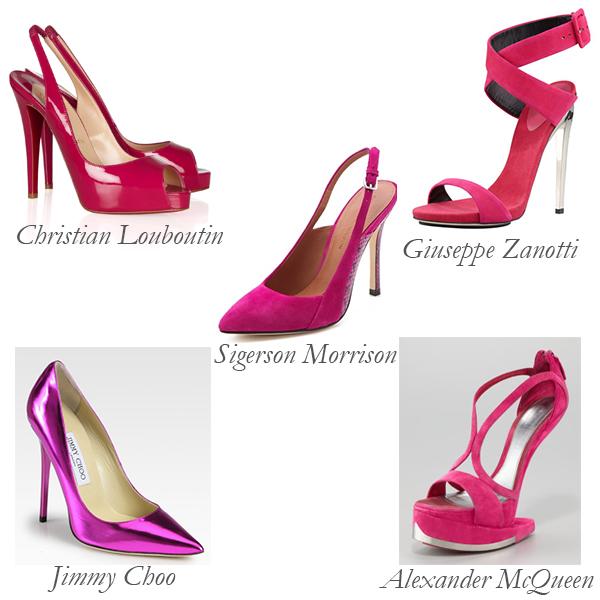 Top 5 Fuchsia Shoes