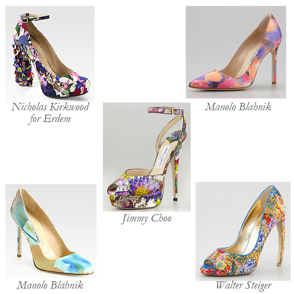 Impressionist-Inspired Shoes: Art Class