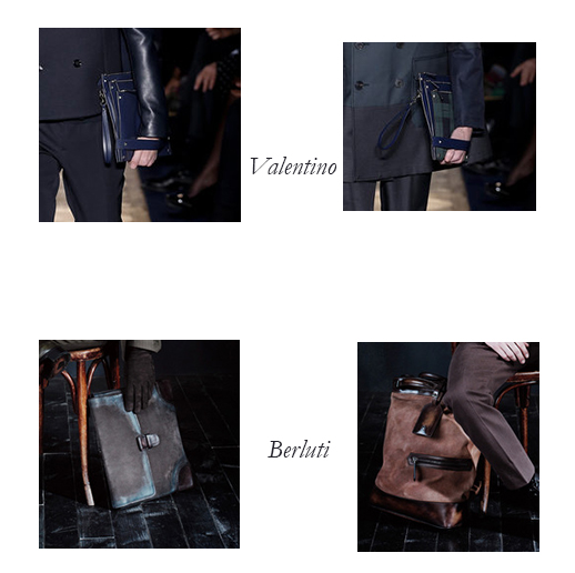 Valentino and Berluti Mens Bags for Fall/Winter 2013