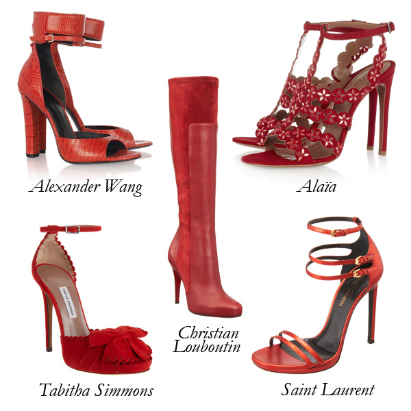 Top 5 Red Hot Shoes