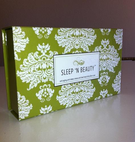 Sleep 'n Beauty Silk Pillowcase