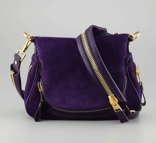Tom Ford Jennifer Flap-Top Messenger Bag