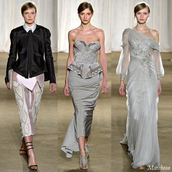 Marchesa Fall/Winter 2013 Runway Looks