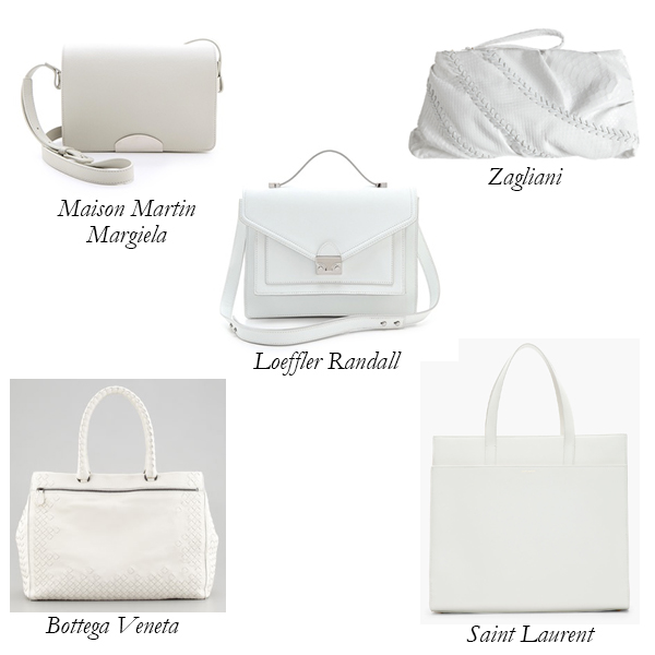 Top 5 Blindingly White Bags