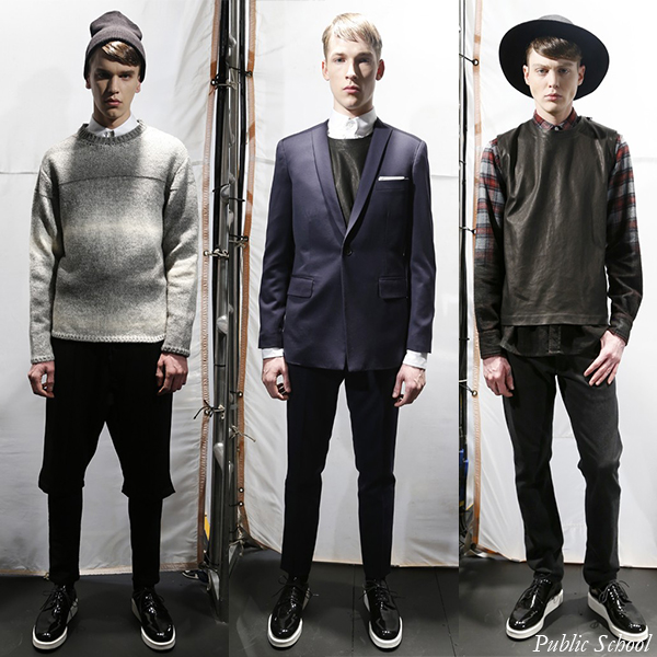 Public School Fall/Winter 2013 Men's Looks