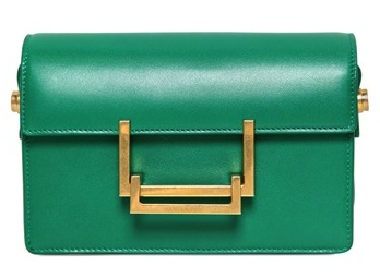 Saint Laurent Small Lulu Brushed Leather Shoulder Bag