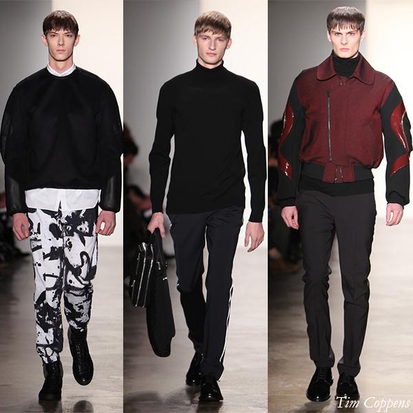 Tim Coppens Fall/Winter 2013 Men's Looks