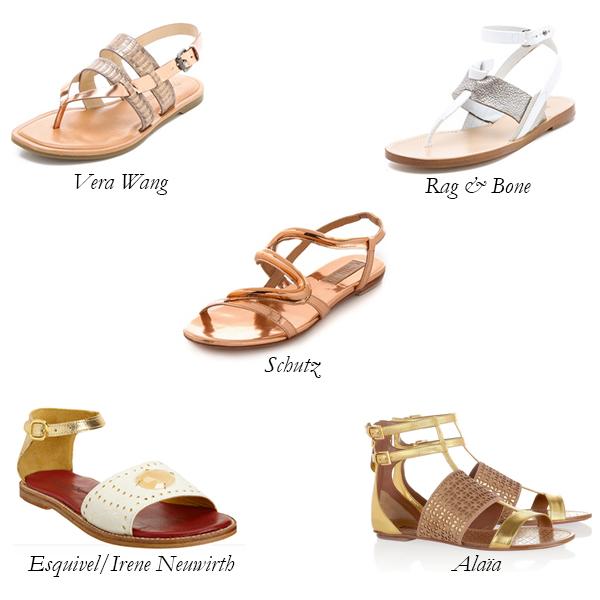 Happy, Shiny Sandals