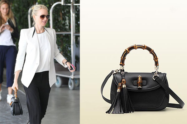 Naomi Watts Lunches In Beverly Hills With Bamboo Gucci
